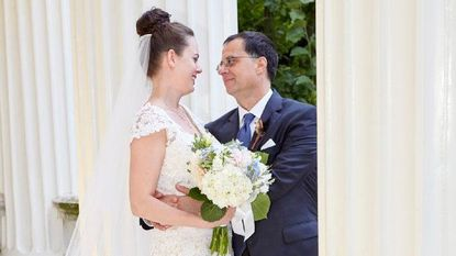 Jessica Bowling and Dan Naor married on July 23 at the Evergreen Museum and Library.