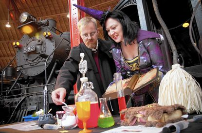 Wizards and Witches Day at the B&O Railroad Museum features magical train rides, an edible potions class, hands-on science experiments and stage performances.