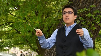 """Ryan Tani will be conducting """"Tree Line,"""" a concert presented by Occasional Symphony, at 3 p.m. this Sunday at the Cloisters."""