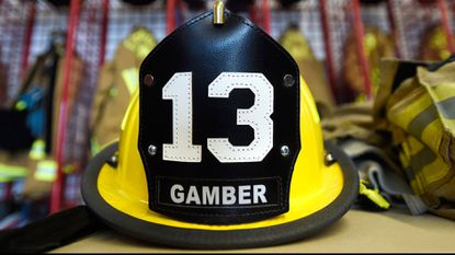 Emergency responders were called to London Bridge Road in Gamber on Friday evening for a basement fire at a residence.