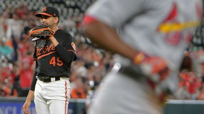 Baltimore Orioles relief pitcher Gabriel Ynoa will be out of minor league options next year and likely be a major player in the Orioles' rotation competition in spring training.