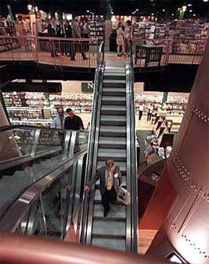 The Barnes & Noble bookstore at the Power Plant in the Inner Harbor before its closing in August 2020. File.