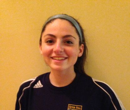 River Hill girls soccer player Jessica Hopkins is the Athlete of the Week.