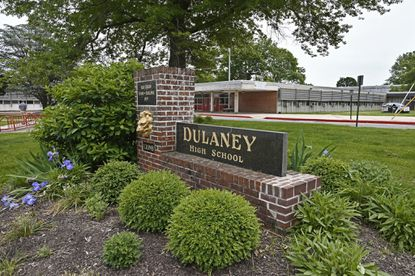 Dulaney High School, one of the Baltimore County schools scheduled for temporary air conditioning units.