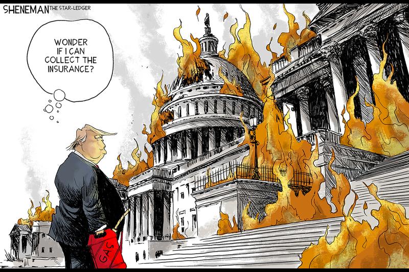 Michelle Goldberg column: Did the Capitol attack break the president's spell? - Baltimore Sun