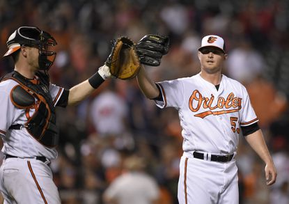Simply unhittable. Britton has converted every save opportunity this year to lead the American League (27) and has a sub-1.00 ERA that would be even lower if not for his one loss in a nonsave situation. It doesn't get any better than this.