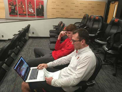 Terps focus on film to promote improvement