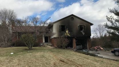 A dwelling fire in a Westminster home early Friday morning is thought to have originated in the garage.