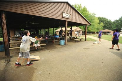 Elks Camp Barrett in Crownsville, a camp is for kids who have a parent with cancer, is one of several area youth camps who will remain closed despite Gov. Larry Hogan's easing of coronavirus restrictions.