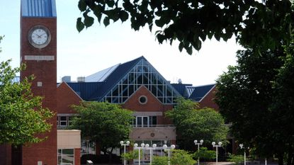 Carroll Community College campus, built in 1990, is located on Washington Road, in Westminster.