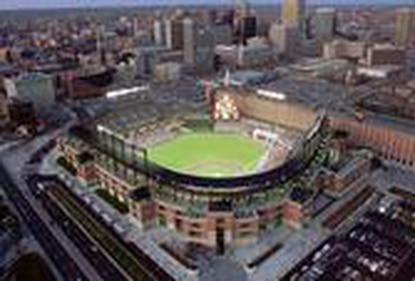 <p>Oriole Park at Camden Yards.&nbsp;</p>
