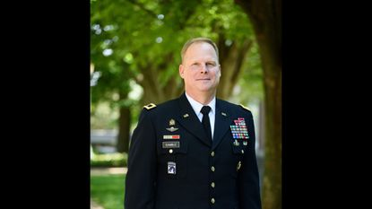 Maj. Gen. Duane Gamble, 1985 alumnus of McDaniel College will appear in conversation with McDaniel President Roger Casey at 7 p.m. Tuesday April 2.
