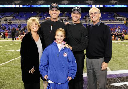 The Harbaugh family