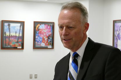 <p>Michael J. Martirano, the interim superintendent of Howard County schools.</p>