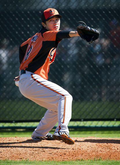 Orioles decline $5 million option on left-hander Tsuyoshi Wada