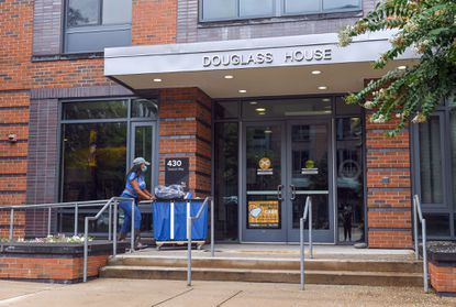 Towson University began welcoming students back to campus earlier this month.