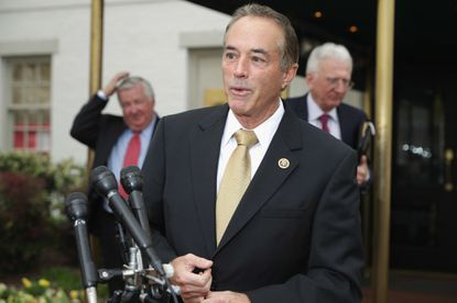 GOP congressman from New York charged with insider trading says he will remain on ballot