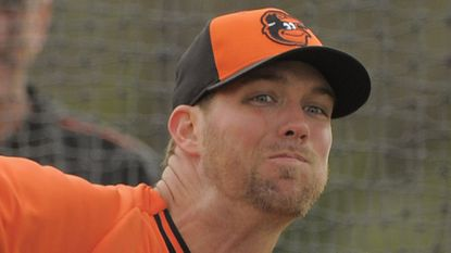 Orioles pitcher Ryan Webb would be due $2.7 million if released by the organization.