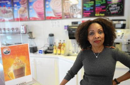 Anne Segal, of Columbia, purchased the Double Dipper Ice Cream Parlor from original owners Robert and Angie Crowell.