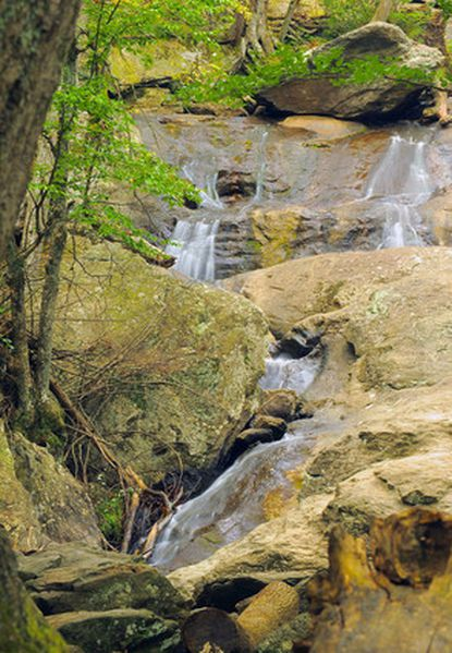 Weekend hikers can explore Cunningham Falls State Park, in the hills overlooking Thurmont.