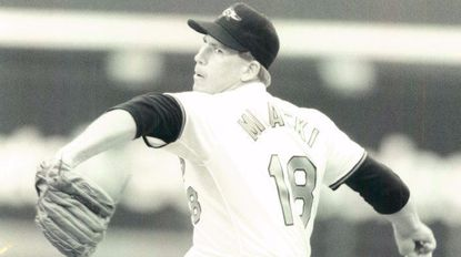 After Ben McDonald was removed in the third inning, Bob Milacki, just up from Hagerstown, came on in relief and threw five strong innings on April 28, 1991.