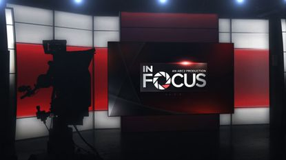 """The set of """"ABC2 In Focus,"""" which will debut Monday night on WMAR, Channel 2"""