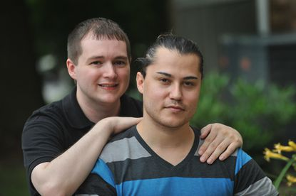 The Supreme Court's decision to strike down the law that barred federal recognition of same-sex marriage means Joseph O'Farrell, left, finally will be able to sponsor his Mexican husband, Rafael Ramirez, in his efforts to become a U.S. citizen.
