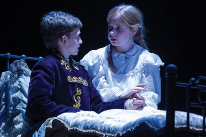"""Anthony Frederickson as Colin, Caitlin Cohn as Mary in """"The Secret Garden"""" at Center Stage"""