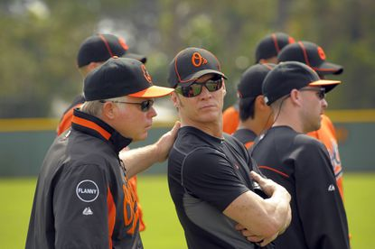 If Dan Duquette leaves the Orioles, it's likely that Buck Showalter and Brady Anderson would pick up some of the executive's duties.