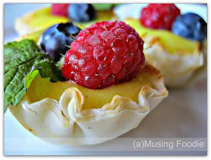 (a)Musing Foodie: Lemon curd tartlettes