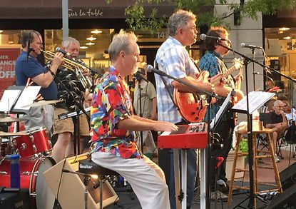 Kings of Crownsville are performing at 49 West on Saturday, Feb. 15. The band consists of David Vermette on bass, Michael McCormack on keyboards, Jim Tavener on trombone and congas, Ed Justice on trumpet, John Shepard on drums and Steve Johnson on guitar and lead vocals.