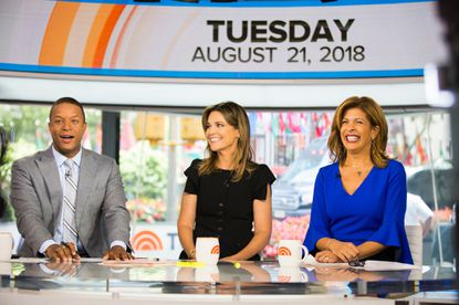 "Craig Melvin, Savannah Guthrie and Hoda Kotb during a recent ""Today"" broadcast."