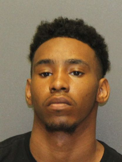 Raequan Aderius Frazier, 23, of Edgewood, is charged with four counts of attempted first-degree murder, although he was not the gunman in the incident that occurred early Wednesday, Dec. 4, in the 1200 block of Plaza Circle in Joppa.