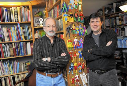 Howard Weinstein, left, and Steven Wilson are two of four authors who will appear at the East Columbia library to discuss their work relating to Star Trek. They are both writers for comic books.