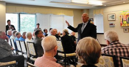 Sen. Cardin discusses cyber security, Freddie Gray with seniors in Catonsville