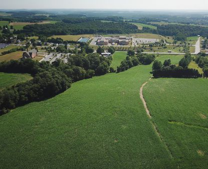 A developer has petitioned the Town of Manchester to annex a piece of property into town limits as part of a plan for 40 new single-family homes at 2828 Hanover Pike. The property, which sits across Md. 30 from Manchester Valley High School, is currently planted with field crops.