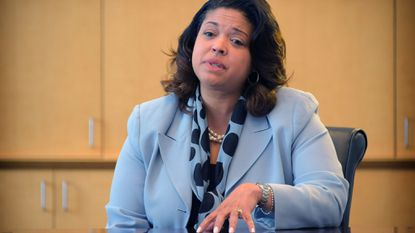 Baltimore County Interim School Superintendent Verletta White has filed amended financial disclosure reports with the ethics panel to show she worked as a consultant while holding her job as chief academic officer for the school system.