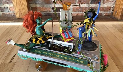 Racers start your works of art at the American Visionary Art Museum's Honey, I Shrunk the Kinetic Sculpture Race. 43 sculptures will compete over miniature land, sea, mud and sand. The annual race features wacky, imaginative, human-powered works of art. avam.org. Saturday 11 a.m.