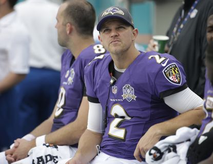 Five numbers to consider as Jimmy Clausen starts for Ravens vs. Seahawks