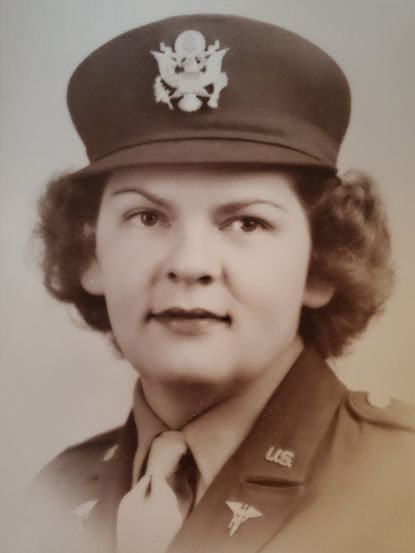 Edith R. Esslinger took part in the evacuation from Chosin Reservoir in 1950 during the Korean War.