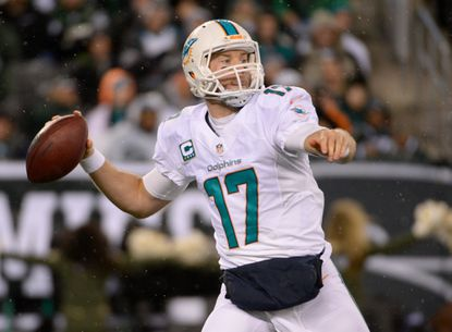 Miami Dolphins quarterback Ryan Tannehill could create problems for the Ravens with his legs and arm.