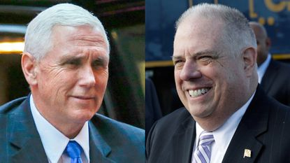 Maryland Gov. Larry Hogan: Mike Pence 'one of my closest friends' among governors