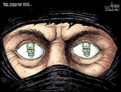 The eyes of ISIS