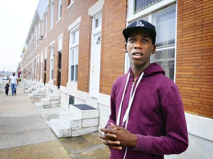 Rodney Stallworth, 18, spent four months In the J. DeWeese Carter Center last year on a drug charge. He called the place a refuge to keep him away from drugs and guns on the street.