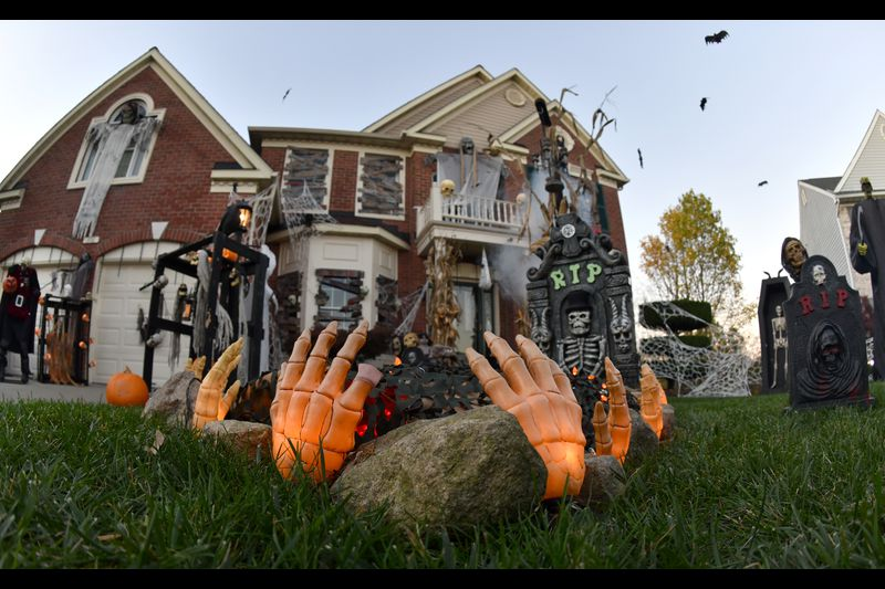 How In Baltimore Have The Best Halloween Displays In 2020 Scary Mr. Craig's house' draws hundreds to Forest Hill