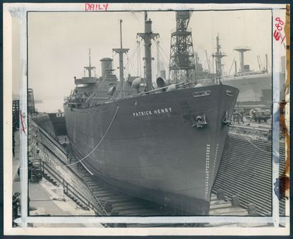 The SS Patrick Henry in 1941.