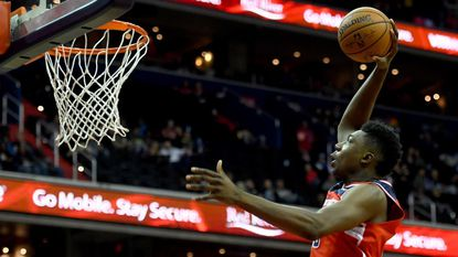 Washington Wizards center Thomas Bryant became the fourth player in NBA history to make all 14 shot attempts in a game, joining a list that's dominated by Wilt Chamberlain.