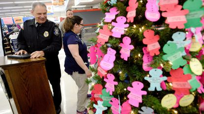 Westminster cops seeking angels to put gifts for kids under tree