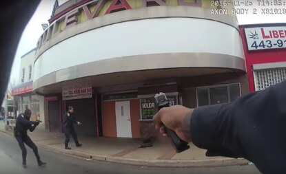 Baltimore police release body camera footage from Friday's police shooting