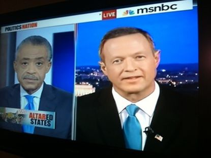 Al Sharpton supports same-sex marriage in Maryland